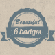 Set of Grunge Hand Drawn like Badges / Logos - GraphicRiver Item for Sale