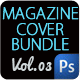 Magazine Cover Template Bundle Vol.3 - GraphicRiver Item for Sale