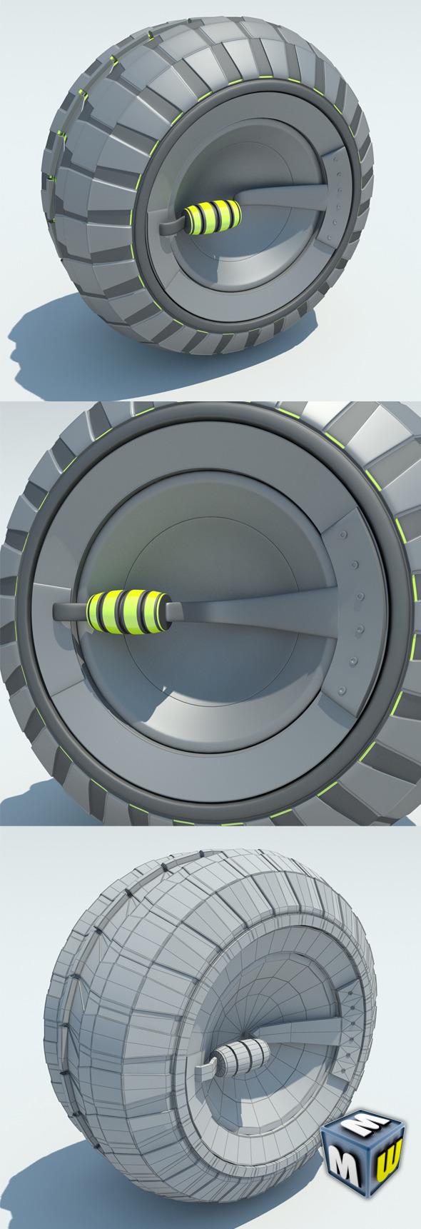 3DOcean Wheel Concept MAX 2011 5650073