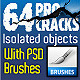 64 Pro Cracks (Bitmap version) - GraphicRiver Item for Sale