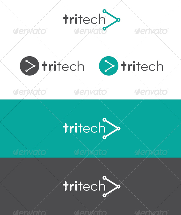 GraphicRiver Trinity Technology Logo 5741920