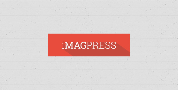 ThemeForest iMagPress PSD Flat Magazine Theme 5771255