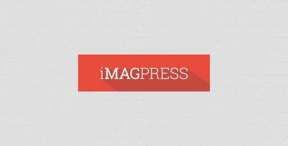 ThemeForest iMagPress PSD Flat Magazine Theme 5771255