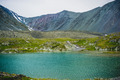 Colored mountain Stones. Lake - PhotoDune Item for Sale