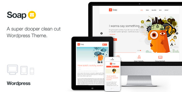 ThemeForest Soap Creative Business Portfolio 5771544