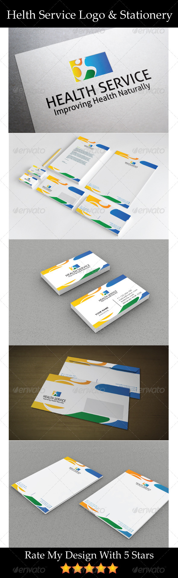 GraphicRiver Natural Health Service 5722357