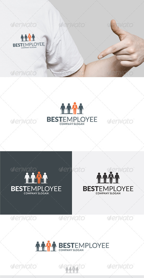 GraphicRiver Best Employee Logo 5771788