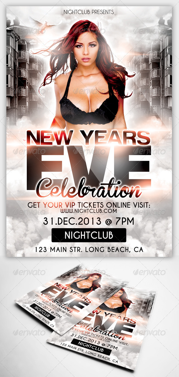 GraphicRiver New Years Eve Celebration 5723424