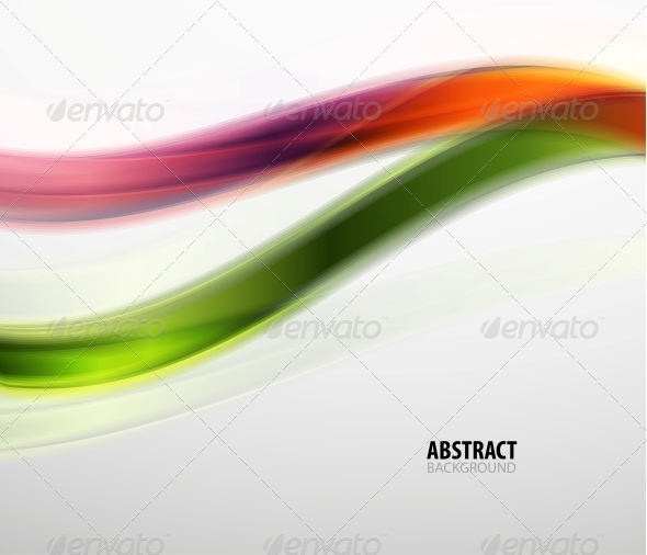 GraphicRiver Abstract Colorful Wavy Lines Modern Pattern 5775876