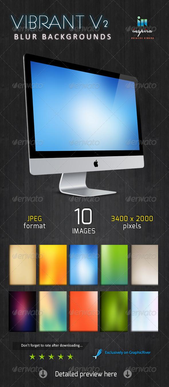 GraphicRiver Vibrant Blur Backgrounds V2 5776010