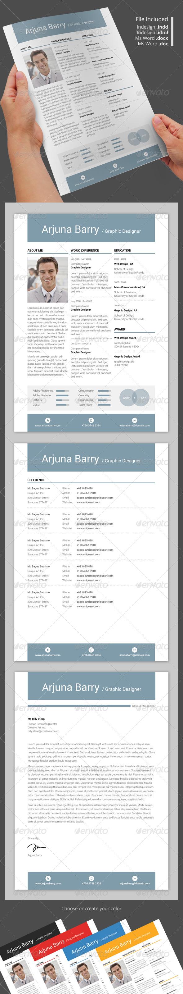 GraphicRiver Apik Resume 5776206