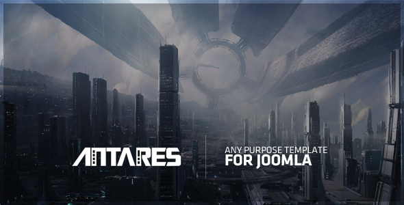 Antares Any Purpose Template For Joomla! - Joomla CMS Themes