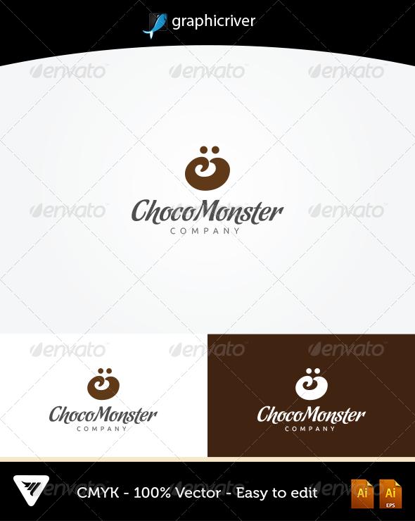 GraphicRiver ChocoMonster Logo 5757786
