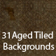 31 Aged Tiled Backgrounds - ActiveDen Item for Sale