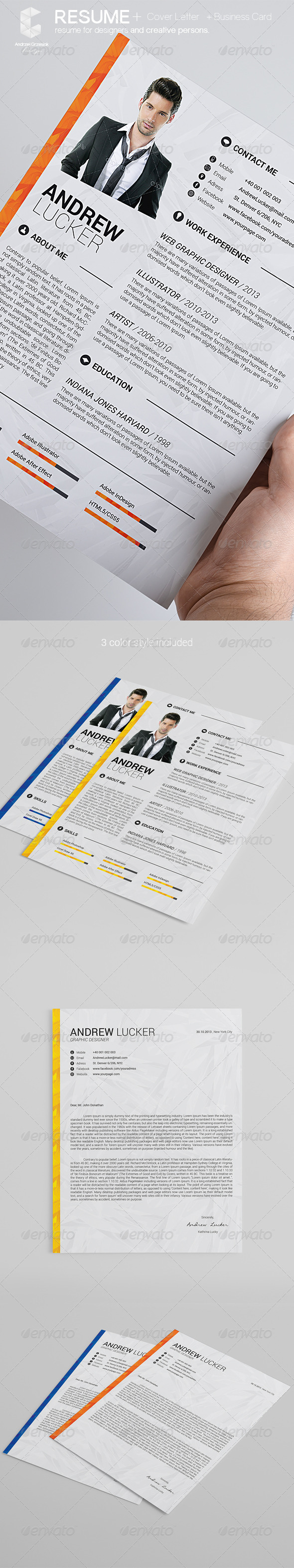 GraphicRiver Resume 5779144
