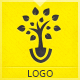 Tree Planter Logo - GraphicRiver Item for Sale