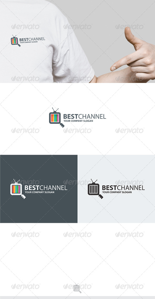 Best Channel Logo - Vector Abstract