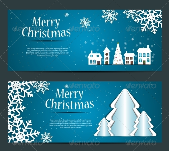 GraphicRiver Abstract Christmas and New Year Background 5780005