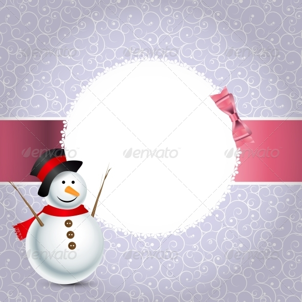 GraphicRiver Abstract Christmas and New Year Background 5780011