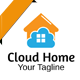 Cloud Home Logo - GraphicRiver Item for Sale