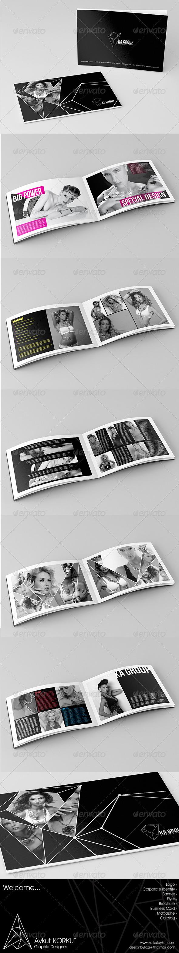 GraphicRiver Ka Group Catalog Template 5780221