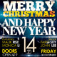 Marry Christmas Party Flyer Template - GraphicRiver Item for Sale