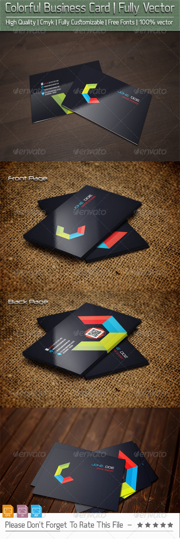 GraphicRiver colorfulBusinessCard v1 5639591