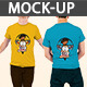 Back & Front Male T-shirt  - GraphicRiver Item for Sale