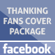 Thanking Facebook Fans Cover Package - GraphicRiver Item for Sale