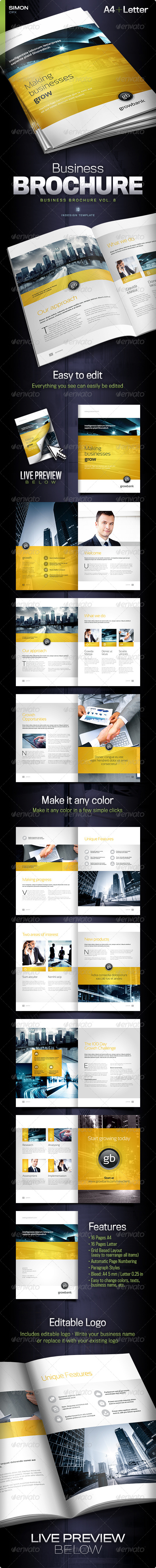 GraphicRiver Business Brochure Vol 8 5786018