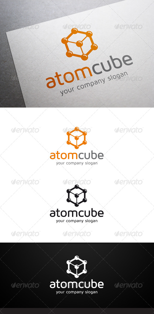 GraphicRiver Atom Cube Logo 5786781