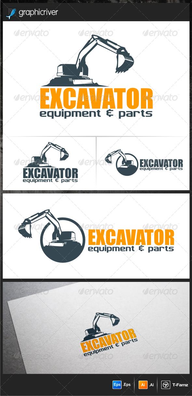 GraphicRiver Excavator Logo Templates 5786784