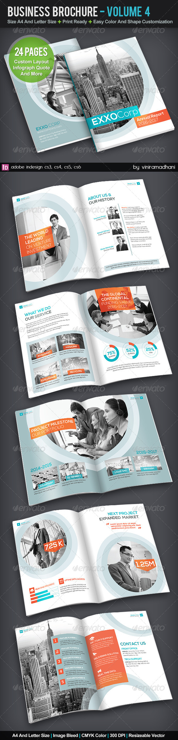 GraphicRiver Business Brochure Volume 4 5787130