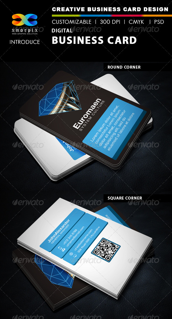 GraphicRiver Digital Business Card 5788291