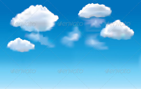 GraphicRiver Blue Sky and Clouds Background 5789150