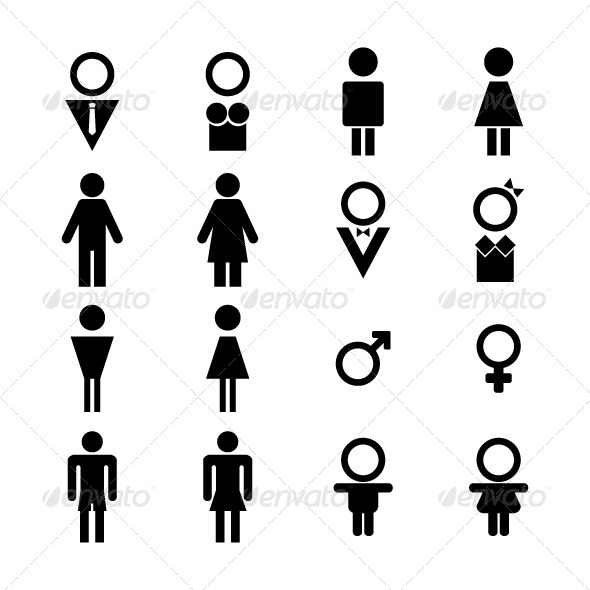 GraphicRiver Male and Female Sign 5789412