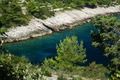 Section of rocky coast in Korcula, Croatia - PhotoDune Item for Sale