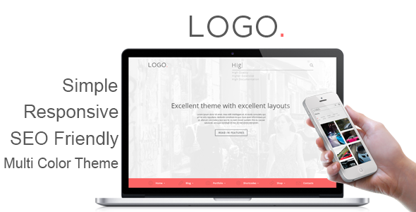 LOGO - Responsive HTML5 Template - Corporate Site Templates