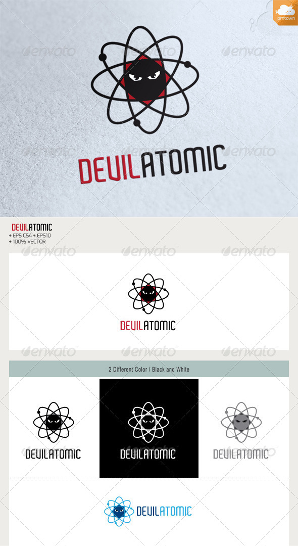 GraphicRiver Devil Atomic 5797278
