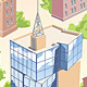 Set of the City Buildings - GraphicRiver Item for Sale