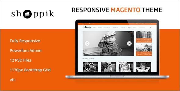 Shoppik - Responsive Magento Theme - Shopping Magento
