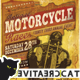 Vintage Motorcycle Flyer/Poster Vol. 5 - GraphicRiver Item for Sale