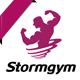 Storm gym Logo - GraphicRiver Item for Sale
