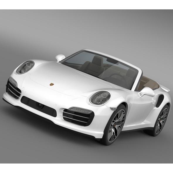 3DOcean Porsche 911 Turbo S Cabrio 2014 5595014
