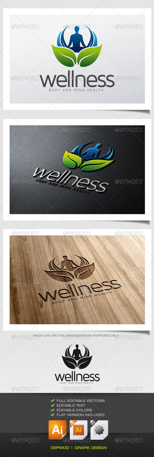 GraphicRiver Wellness Logo 5756515