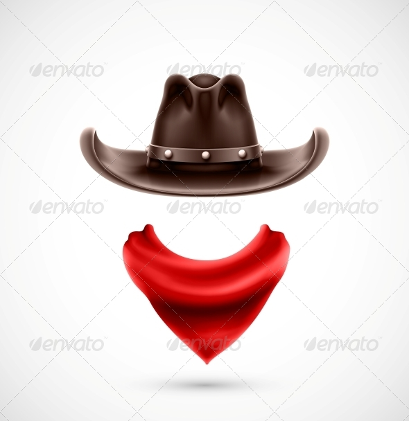 GraphicRiver Accessories Cowboy 5802753