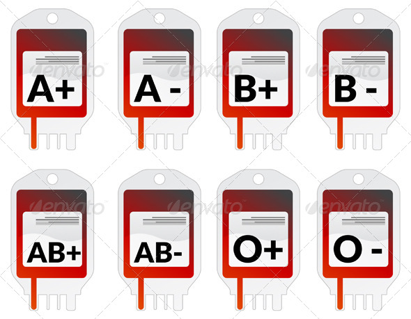 GraphicRiver Blood Groups 5802885