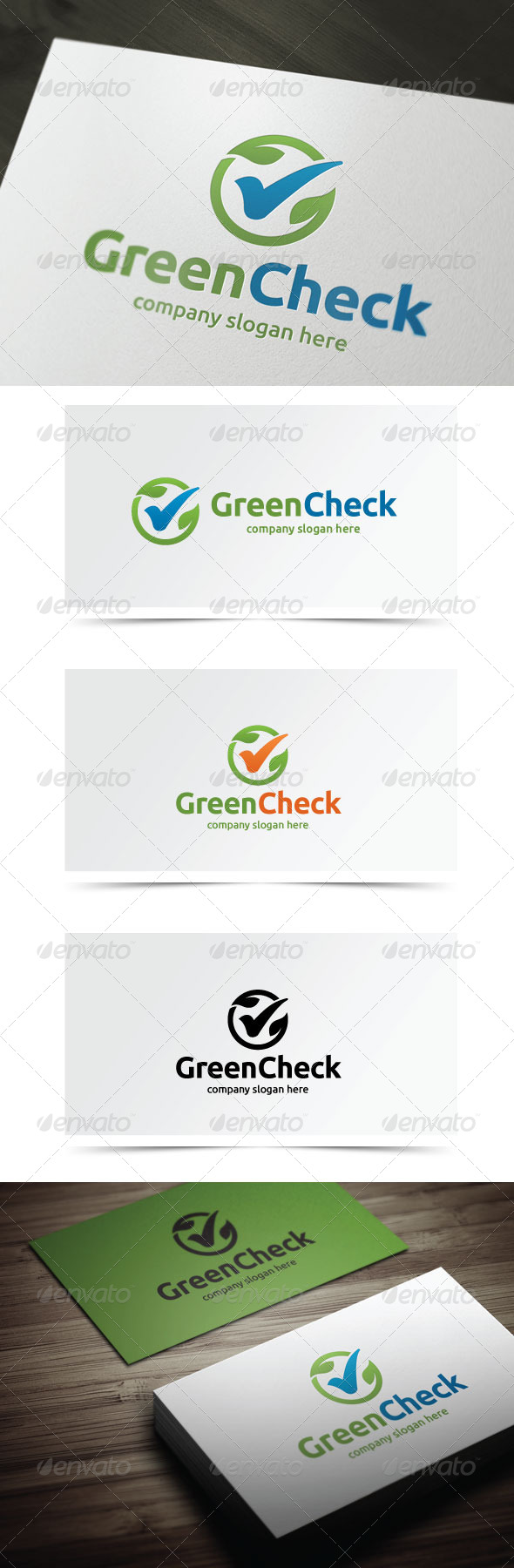 GraphicRiver Green Check 5803550
