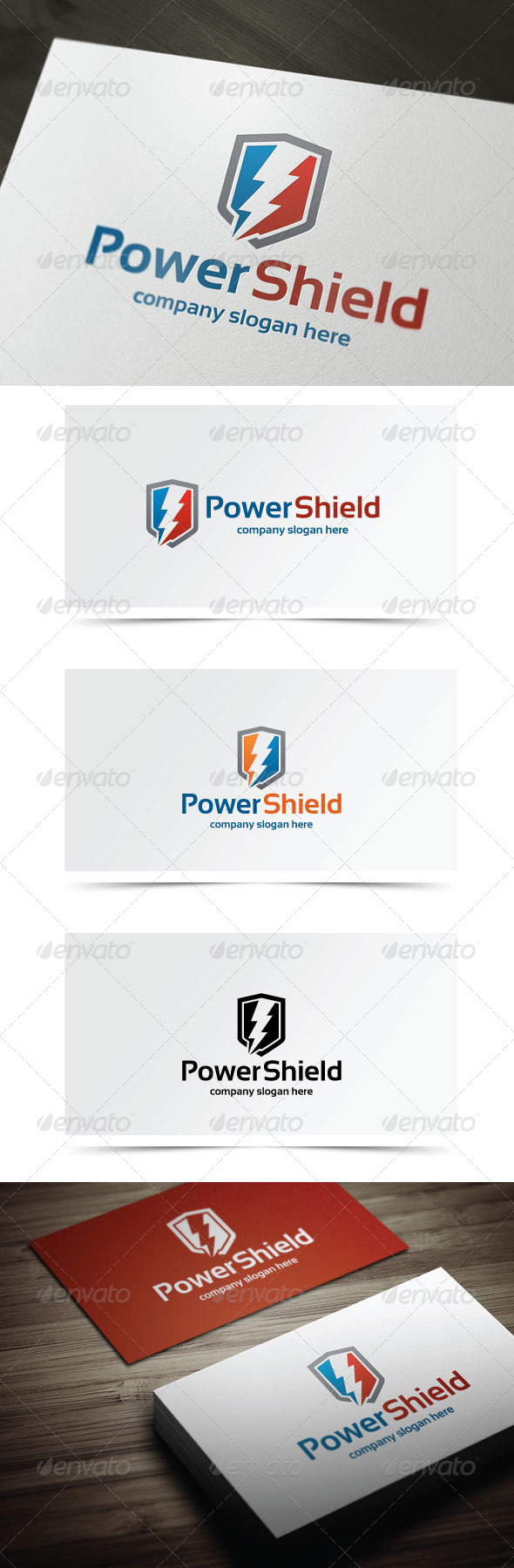 GraphicRiver Power Shield 5803668