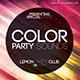 Color Party Sound Flyer - GraphicRiver Item for Sale